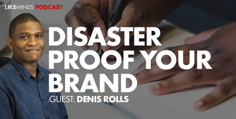 Denis Rolls speaks on Likeminds on Branding